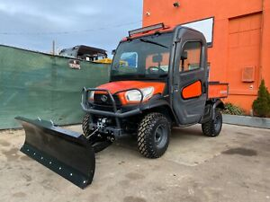 2017 John Deere Gator 855d S4 Eps Cold hot Air Signal Free Winch 715 Miles