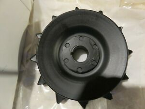 57 C1 Corvette Fi Generator Pulley With Correct Nubs original Gm restored