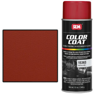 Sem 15363 Portola Red Color Coat Vinyl Paint