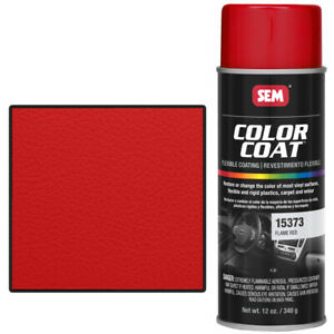 Sem 15373 Flame Red Color Coat Vinyl Paint
