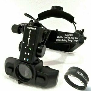 Binocular Indirect Ophthalmoscope With 20d Lens Ophthalmology Optometry Dr jac