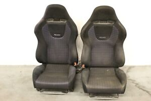 2003 2005 Mitsubishi Lancer Evolution 8 Oem Lh Rh Front Seats wear 5