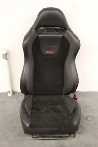 2005 2007 Mitsubishi Lancer Evolution 9 Oem Leather suede Rh Front Seat 3
