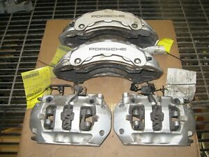 2011 2018 Porsche Cayenne Left Right Front Rear Brembo Brake Caliper S