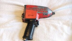 Snap On Tools 1 2 Drive Impact Air Model Xt7100