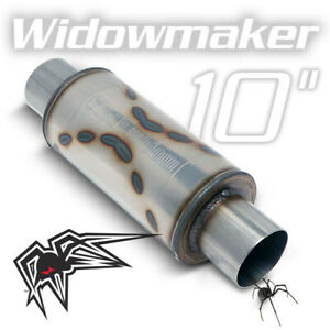 Black Widow Widowmaker Performance Muffler 2 5 Inlet Outlet