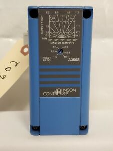 Johnson Controls A350ss 1c Electronic Temperature Reset Module 30 To 90 f