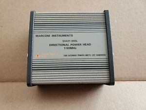 Directional Power Head 54421 002l Marconi 400w 1 50mhz Ifr 2955 2945 2944 2947