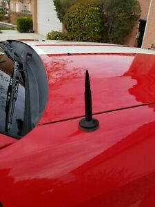 4 25 Inch Black Antenna Mast Power Am fm For Ford Mustang 1979 2009 Brand New