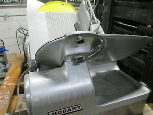 Hobart Slicers Lot Of 2 Free Shipping 1712 1712r Ready To Work Sharp Blades
