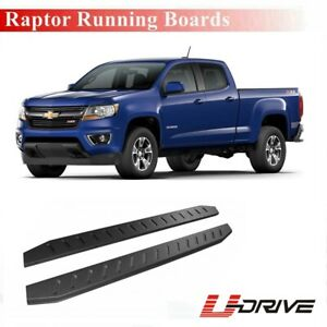 For 2002 2013 Chevrolet Silverado gmc Sierra Crew Cab Side Steps Running Boards