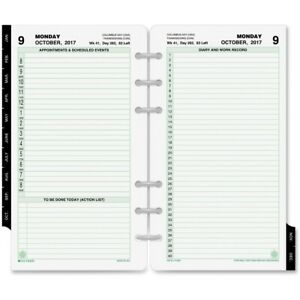 Day timer Appointment 2ppd Reference Planner Refills 10801