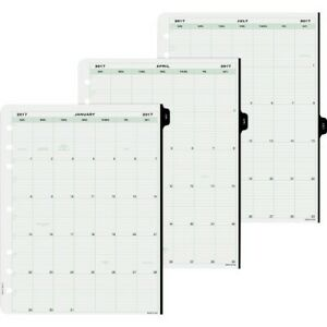 Day timer 1 page per day Planner Page Refill 14010