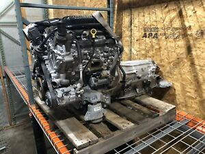 2017 Chevy Camaro 3 6l V6 Engine Motor Vin S Lgx With 8 Speed Auto Transmission