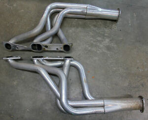 Hooker Super Comp Headers Full length Silver Ceramic 1 3 4 Primaries 41091hkr