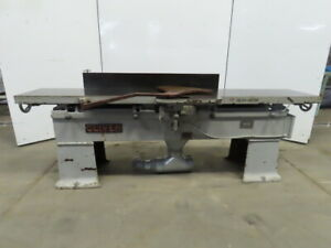 Oliver Model 166 cd 16 x 96 Wood Hand Planer Jointer 5hp 230v 3ph