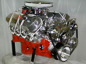 Big Block Chevy 502 Bbc Turn Key Engine 600hp H Beam Forged Pistons