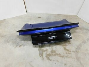 2015 2017 Ford Mustang Gt Trunk Lid W back Up Camera Oem