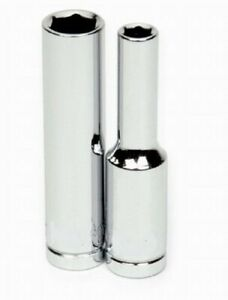 1 4 Drive Deep 6 Point Sockets Metric High Polished Chrome Finish Williams
