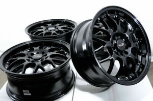16 Wheels Subaru Forester Impreza Legacy Tribeca Accord Civic Corolla Rim Black