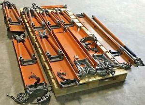 Lot Of A B Chance Electrical Lineman Platforms W Hot Sticks Clamps