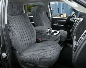 2005 2009 Nissan Titan Front Row Custom Charcoal Scottsdale Seat Covers
