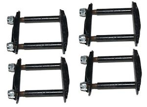 Suzuki Samurai Gypsy Sj410 Sj413 Front Rear Leaf Spring Shackle Set Of 4 Cdn