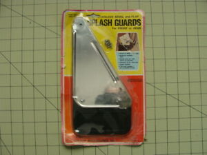 Vintage Stainless Steel And Flap Splash Guards