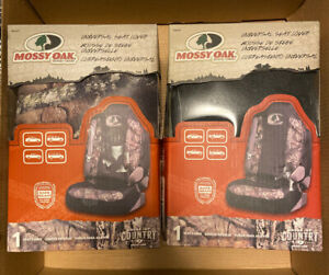 Set Of 2 Mossy Oak Universal Seat Cover Msc4417 Camo