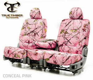2006 2009 Dodge Ram Custom Fit Conceal Pink Camo Front Seat Covers