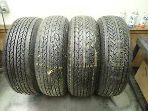 4 Vintage New Old Stock Lr78 15 Goodyear Double Eagle Whitewall Tires