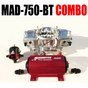 Mighty Demon Mad 750 Bt Annular Mechanical Blow Thru Carb Pump Reg Combo