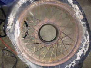 Vintage 6 Buffalo Wire Wheel 20 Inch