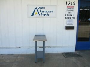 Stainless Steel Work Table 18x30 4941