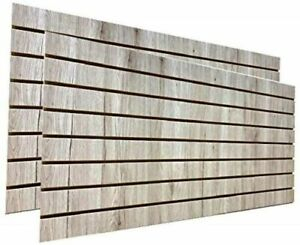 Barnwood Slatwall Panels 24 h X 48 l set Of 2 Panels