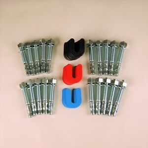 Auto Lift Re instal Kit For Challenger Lifts 30 pack Shims 20 Wedge Anchors