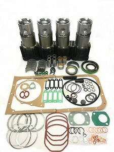 Overhaul Rebuild Kit For Deutz F4l912 Engine 4 Cylinder Std