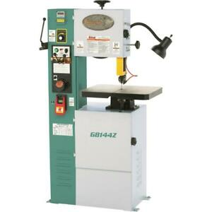 Grizzly G8144z 12 1 Hp Vs Vertical Metal Cutting Bandsaw With Inverter