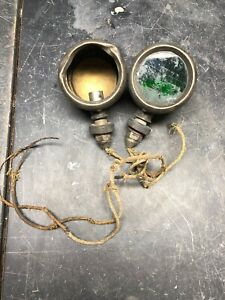 Vintage Turn Signal Light Rat Rod Ford Chevy Dodge Truck Boat Copper