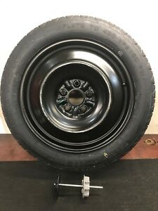 07 17 07 Toyota Camry Spare Tire wheel T155 70d17 W Hold Down