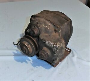 Vintage Leland Electric Gas Pump Motor With Built In On Off Switch Heavy Duty