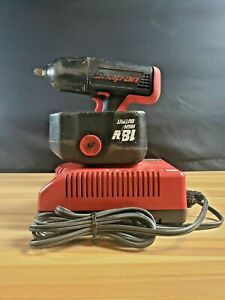 Snap on 18v 1 2 Impact Wrench Ct6850 With 2 Batteries And Charger I 6110