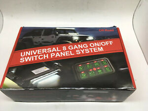 Universal 8 Gang On off Switch Panel System