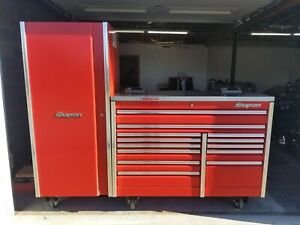 Snap On Epiq Locker And 60 Roll Cab Power Stainless Top