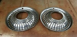 International Harvester Scout Turbine Hubcaps