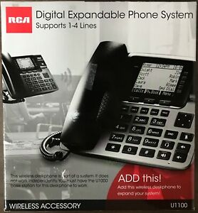 Rca Telefield 4 line Business Phone Wireless Accessory For U1000 Base Station