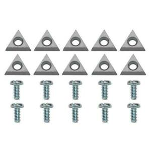 New Bosch 433796 Brake Lathe Bits 10 Pack Carbide Inserts Accu turn