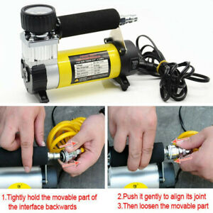 Car Wheel Air Pump Compressor Electric 100psi Tire Tyre Inflator Inflatable Tool