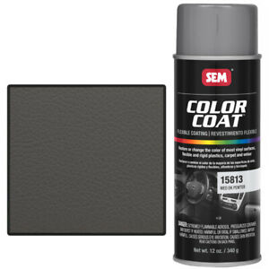 Sem 15813 Medium Dark Pewter Color Coat Vinyl Paint
