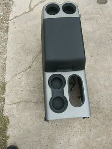 2004 2005 2006 2007 2008 Ford F 150 Gray blk Floor Center Console